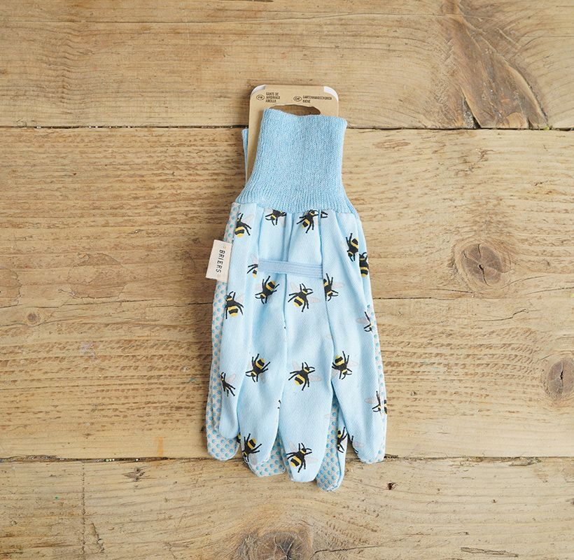 Light Blue Bee Gloves