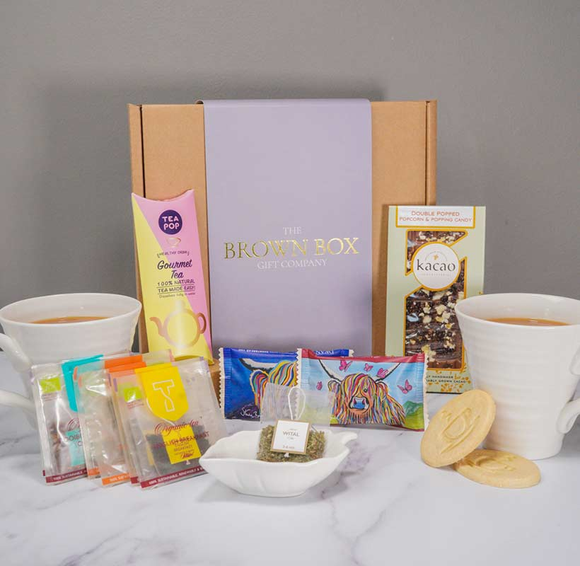 Tea Lovers Large Gift Box