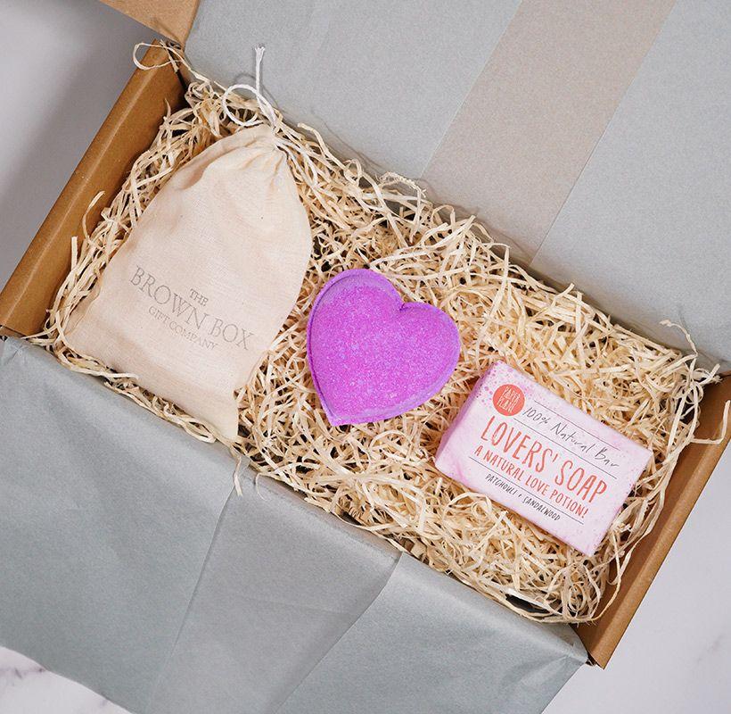Love in a Box, Bath Bomb, Soap, Bath Salt