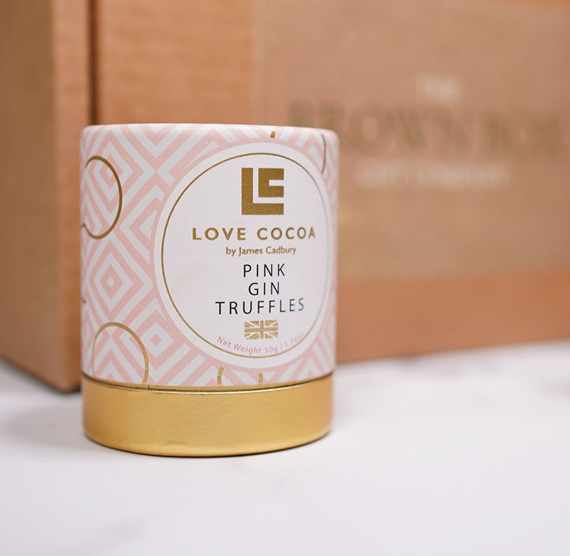 Love Cocoa Luxury Pink Gin Truffles
