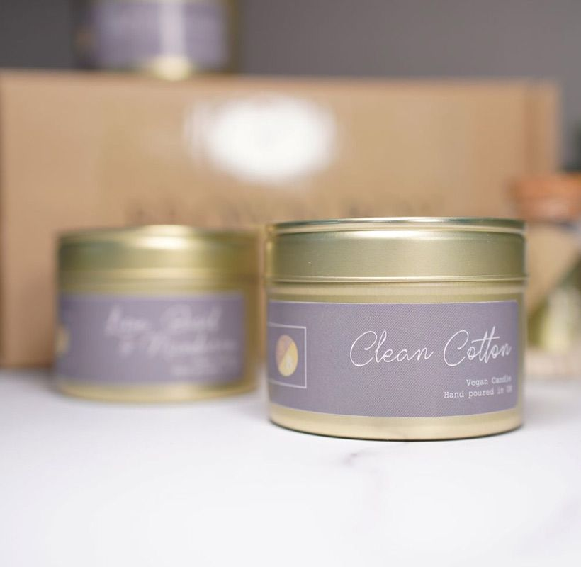 Soy Candle, Clean Cotton