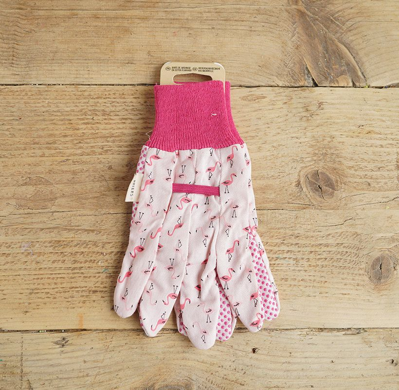 Pink Flamingo Gloves