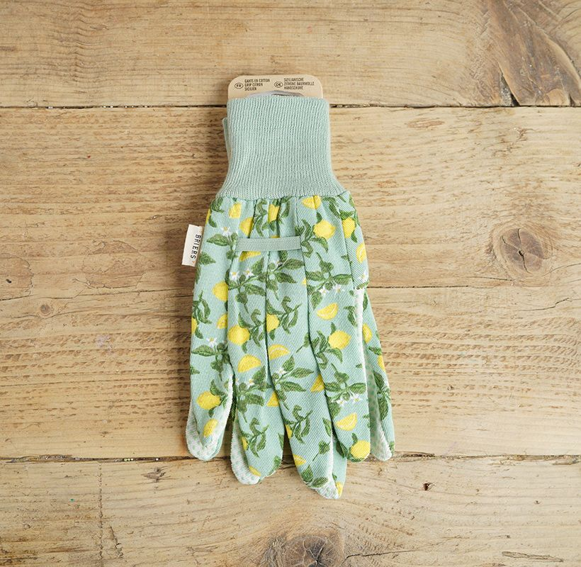 Green lemon Gloves