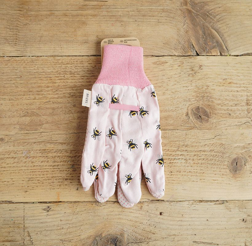 Pink Bee Gloves